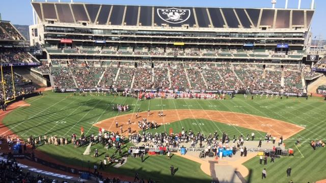 Raiders could stay at home in Oakland