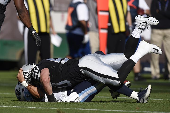 Raiders defense comes up big in road win