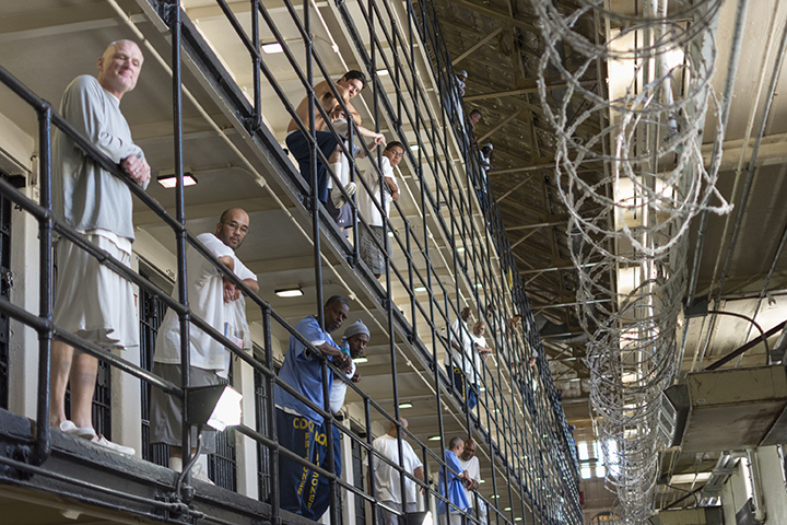The Pioneer visits San Quentin