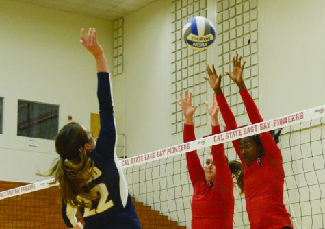 Volleyball squad claws out win over San Marcos Cougars
