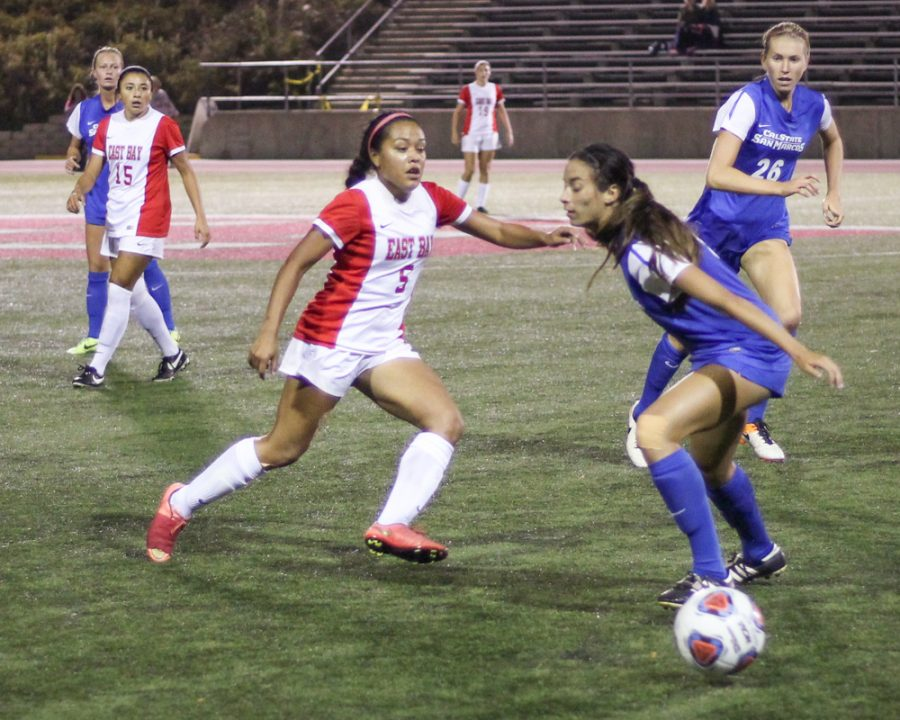 Tritons slay womens soccer in final home game