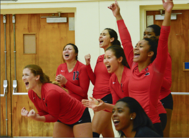 Volleyball goes 1-1 over the weekend