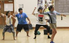 Dance performance chills on Hayward campus
