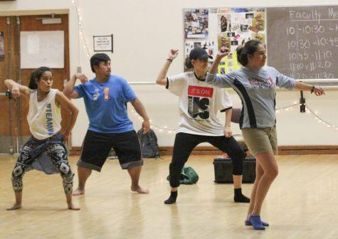 Dance performance chills on Hayward campus