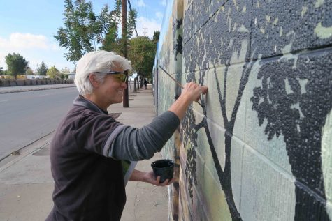 Local artist creates conversation through murals