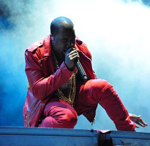 Kanye West preaches politics again