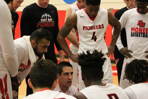 Men's basketball splits games over weekend