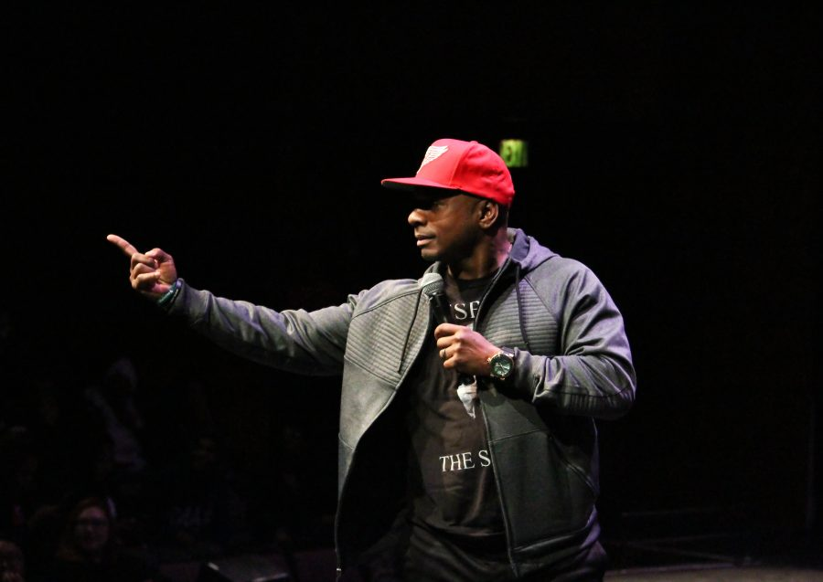 Comedians tackle race, religion, college