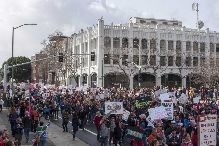 Inauguration+protests+attract+thousands+in+Bay+Area