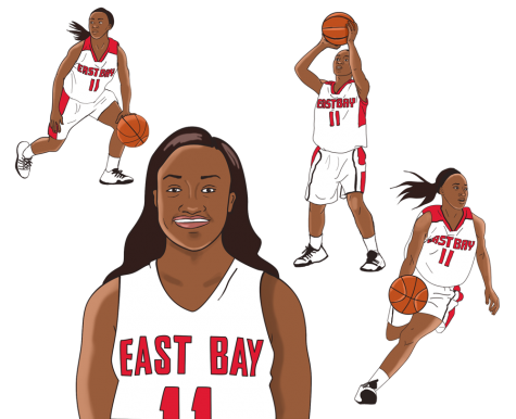 Shomari Harris: Cal State East Bay game changer