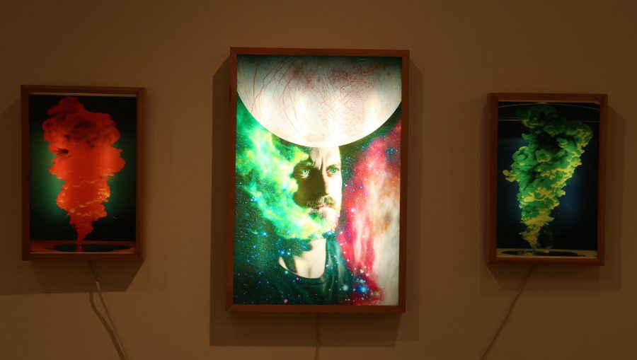 Tracing the artist's constellation: Student featured in campus gallery