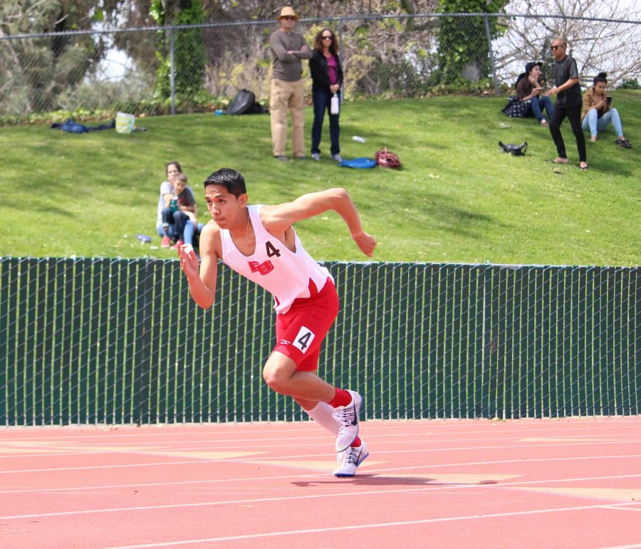 Track teams compete in invitational