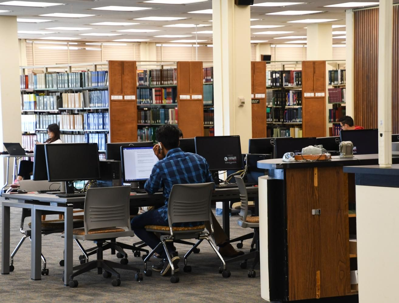 The library scene is not as dead as you think