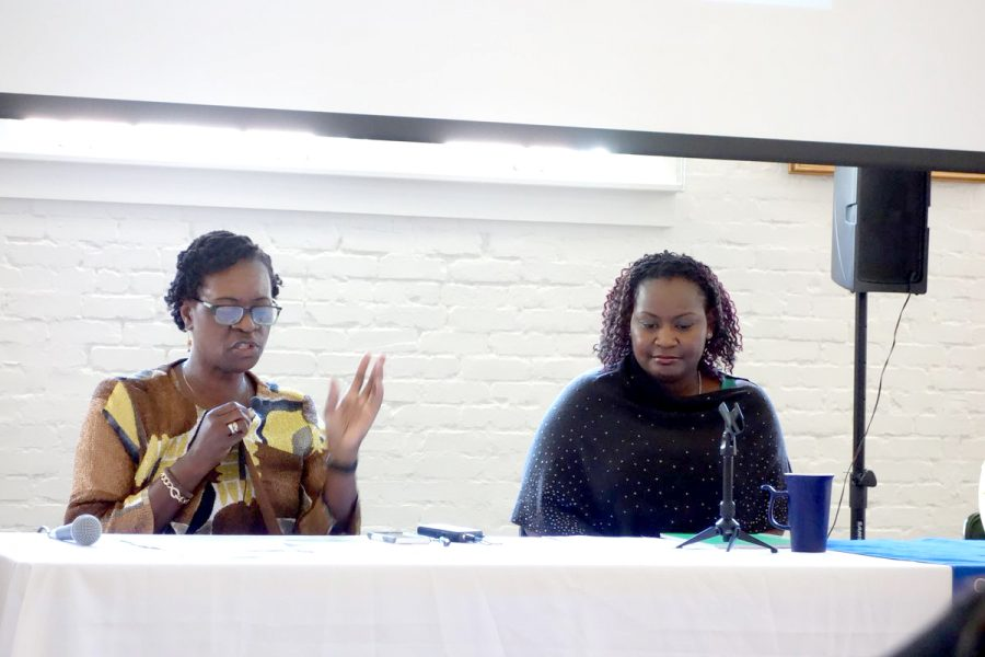 Speaker explains 'traveling blackness'