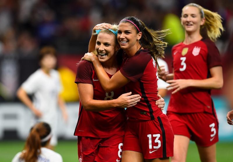 Women outperform men in international soccer