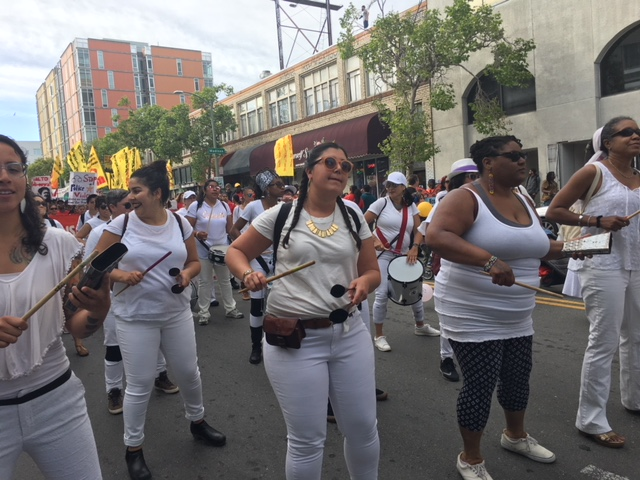 Annual May Day March electrifies East Bay cities