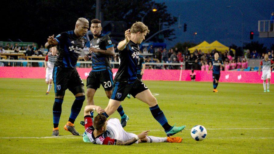 San Jose Earthquakes lose 3-1 to D.C. United