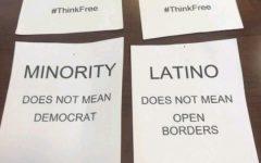Ethnic studies department confronts controversial fliers