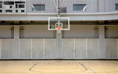 Men's basketball secures conference game