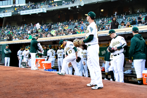 A's management renews contract