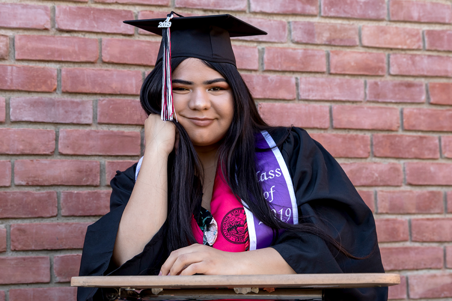 Susanna Martinez is the second person to graduate from CSU East Bay, her sister graduated in 2014. She had the motivation to finish her education at CSUEB not only from wanting to benefit her future self but to make her parents proud.