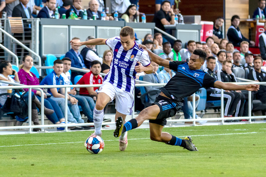 Earthquakes tie Real Valladolid in friendly