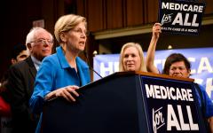 Democratic debate shows divide in Democratic party