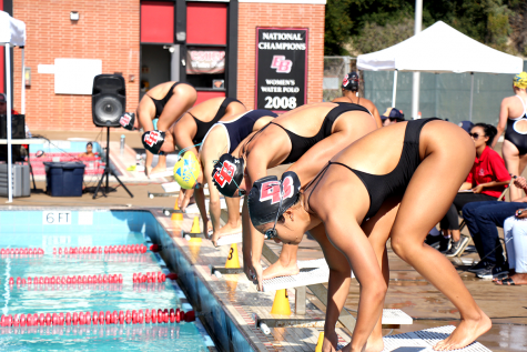 CSUEB swim team