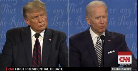 The first debate is nothing short of a dumpster fire.
