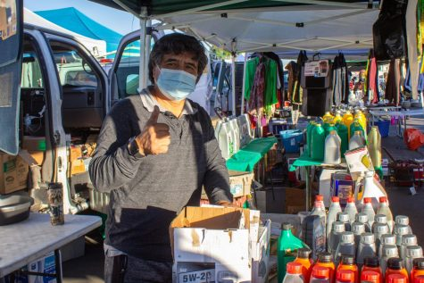 LA County Swap Meet sells masks but does little else in protecting patrons from COVID-19