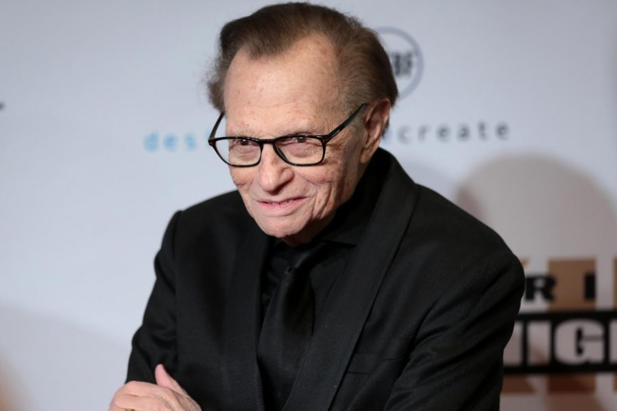 Larry King, an extraordinary broadcast host for more than six decades, dies at 87