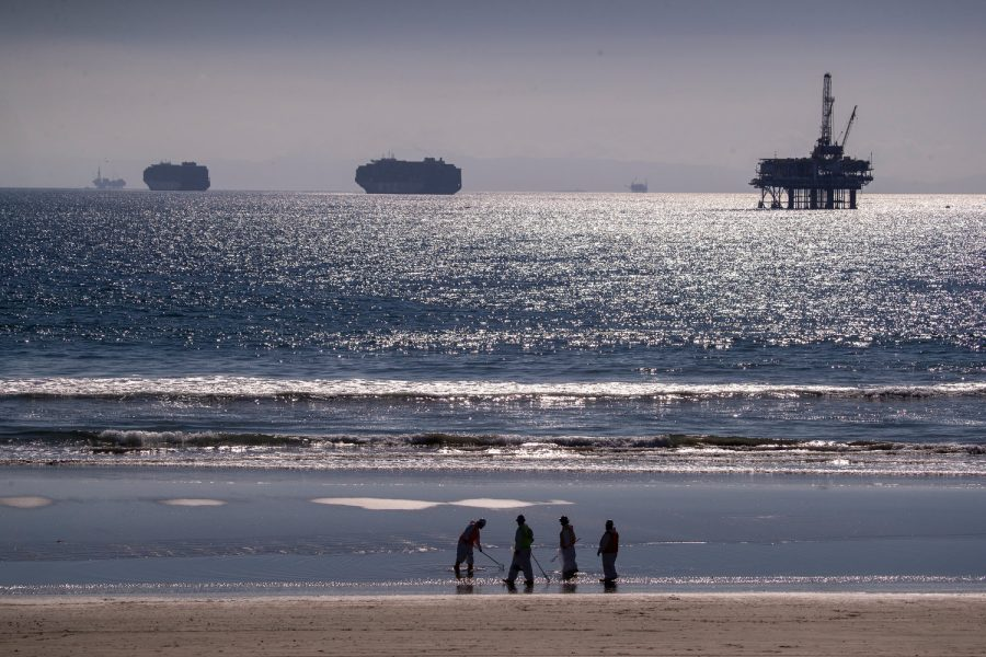Water and Oil Don't Mix: Large Oil Spill in Southern California Fills the Coast